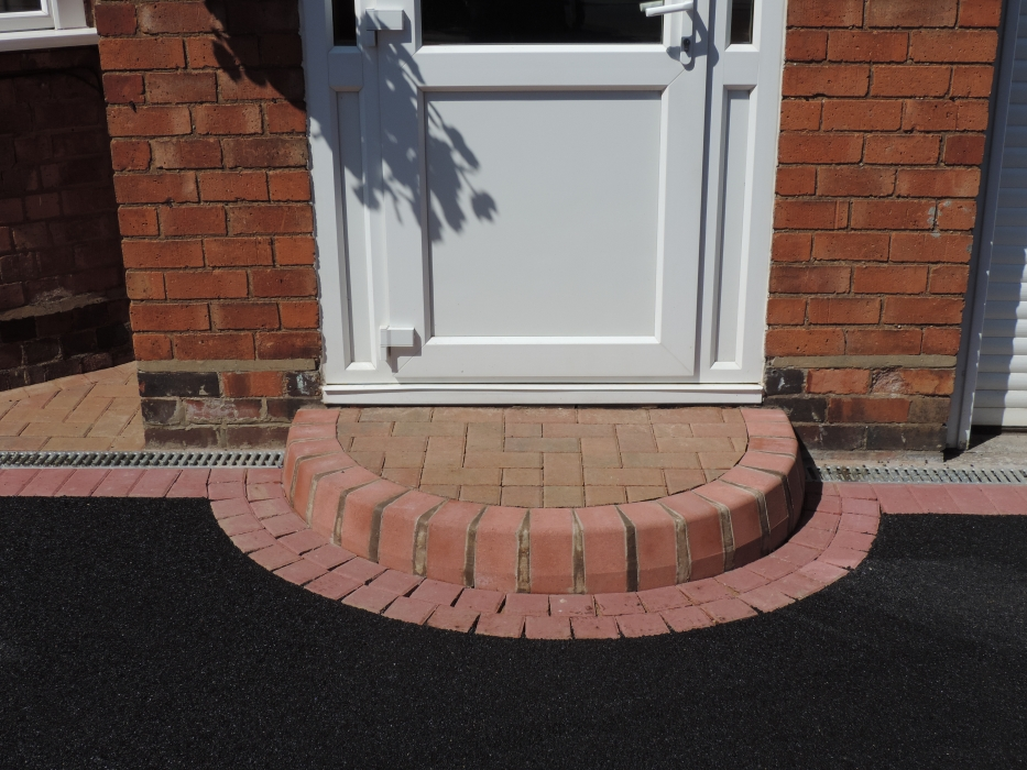 Brick Door Steps Decorative Doorway Entrance Patterns