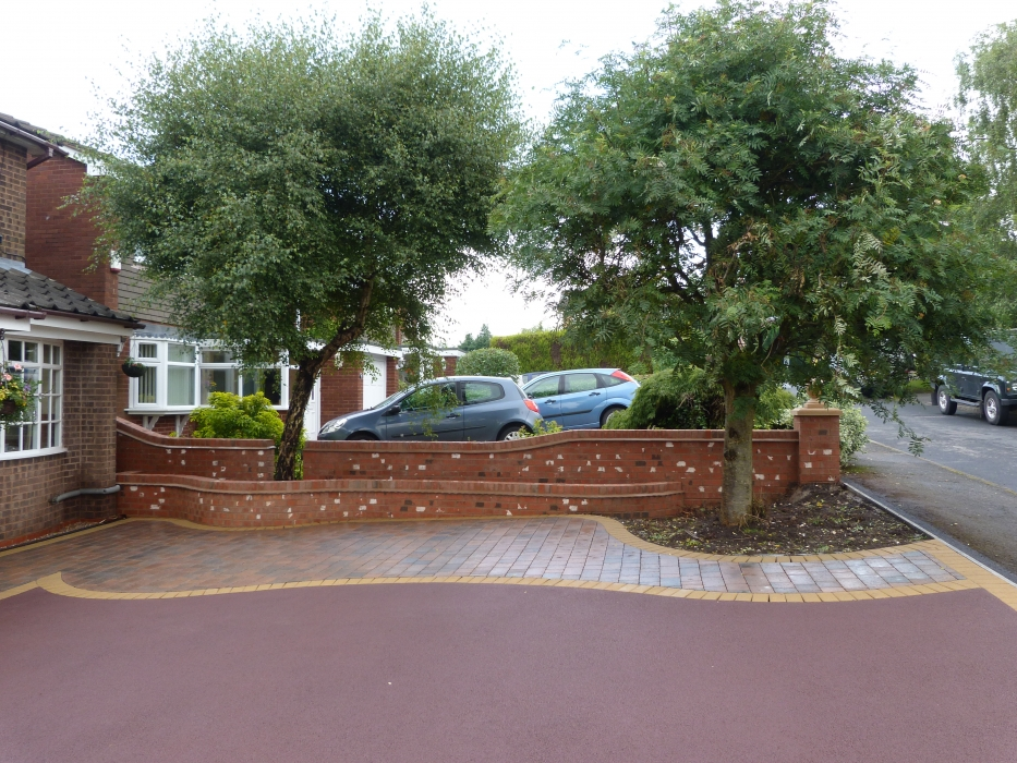 Red Tarmac Driveway Installers Coloured Tarmac Drives