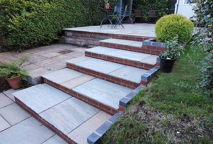 How To Build A Block Paving Step