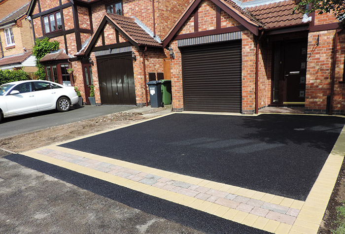 Example Driveways, Patios and Landscaping